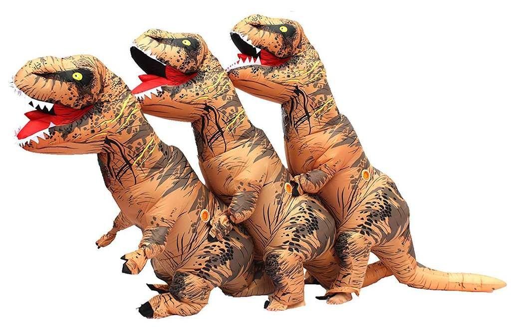 Giant dinosaur halloween costume-7954