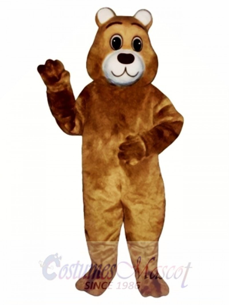 Cute Gentle Bear Mascot Costume