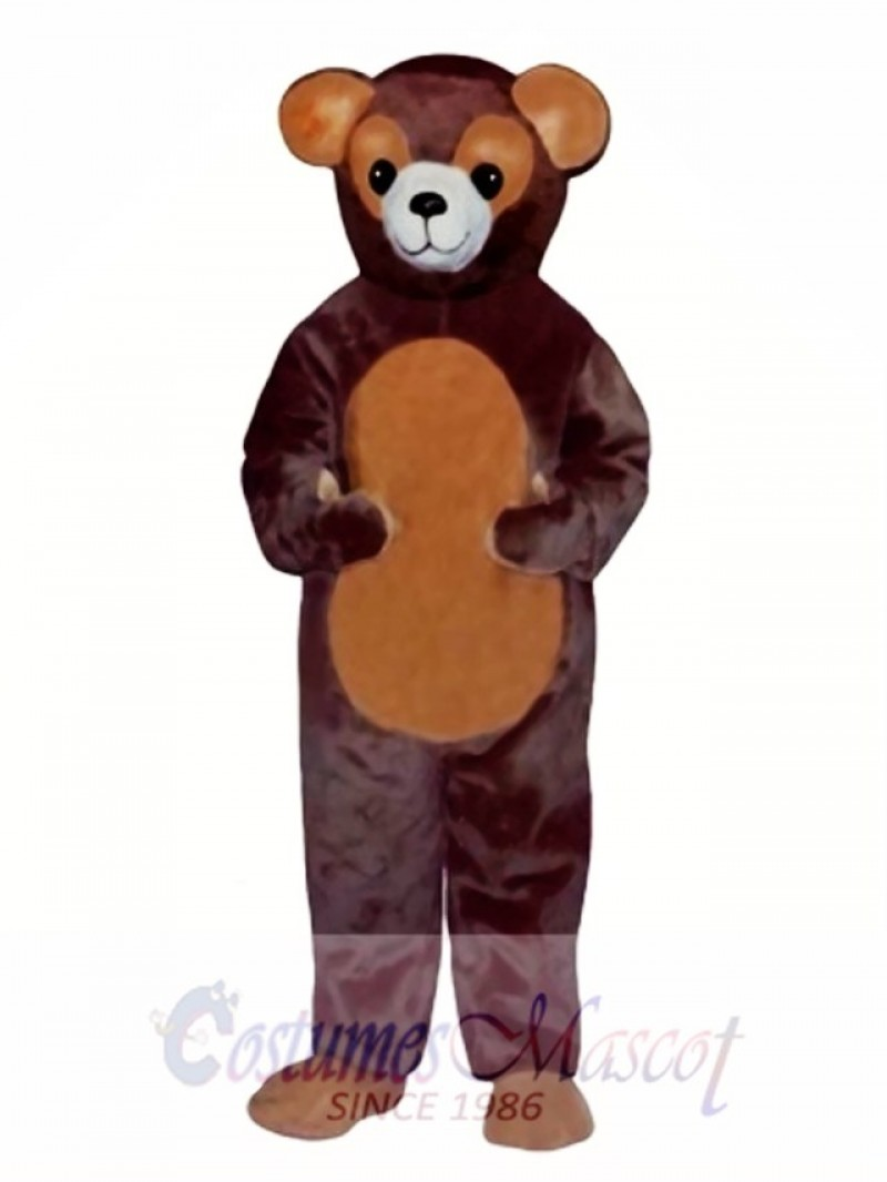 New Ted Bear Mascot Costume