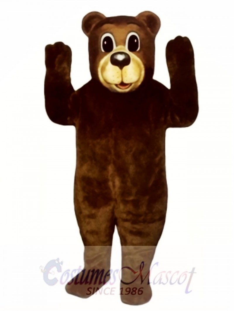 Cute Buford Bear Mascot Costume
