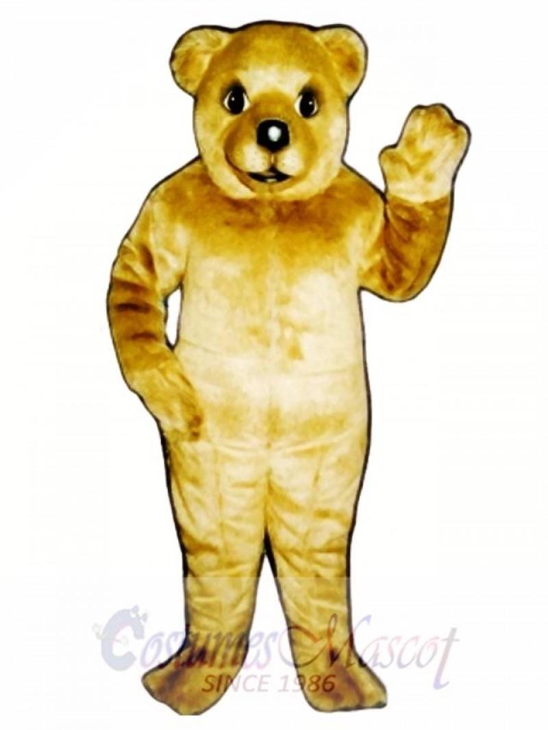 Baby Brown Bear Mascot Costume