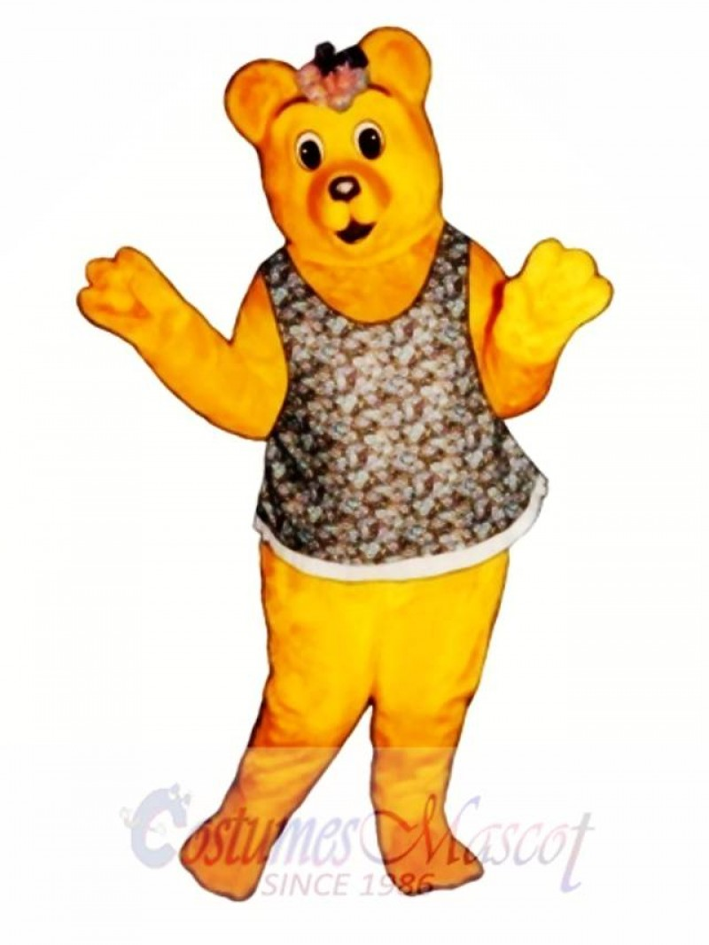 Little Girl Bear Mascot Costume
