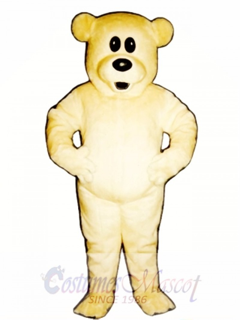 Cute Butterscotch Bear Mascot Costume