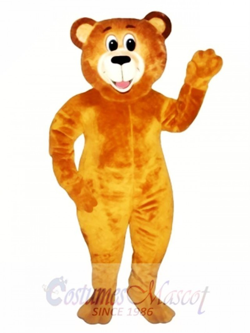 Lucky Bear Mascot Costume