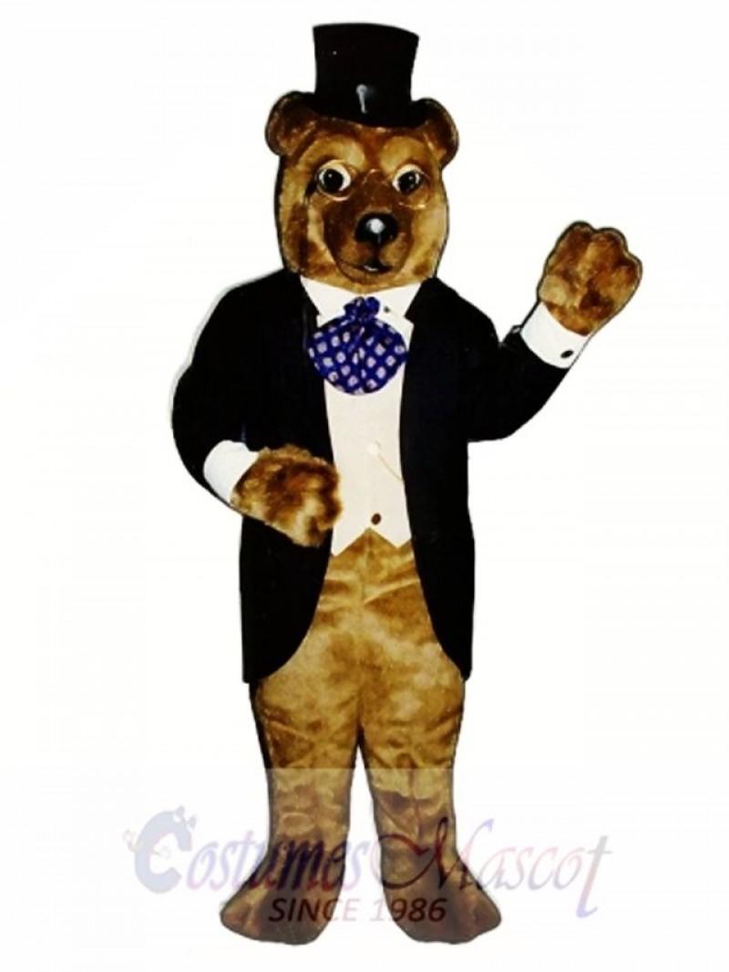 New Theodore Bruin Bear Mascot Costume