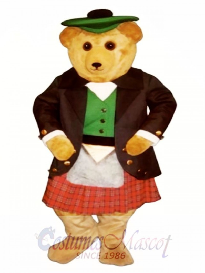 Argyle MacBear Bear Mascot Costume