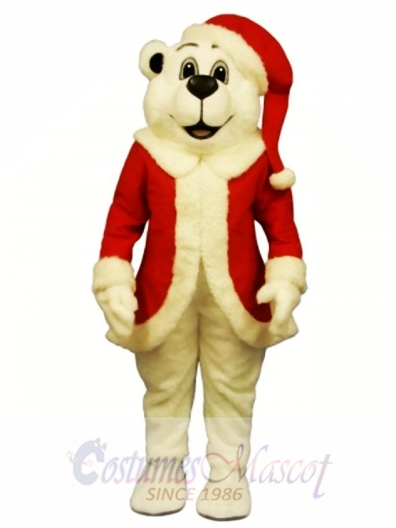 Sugar Plum Bear Mascot Costume
