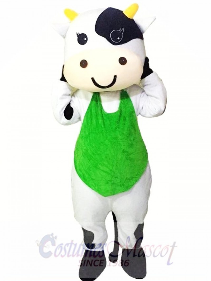 Dairy Cattle Milk Cow Mascot Costumes