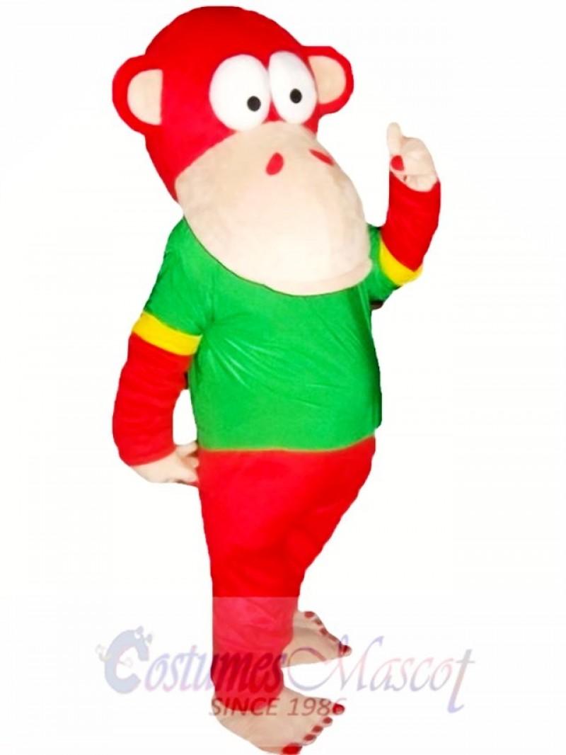 Red Monkey Mascot Costumes