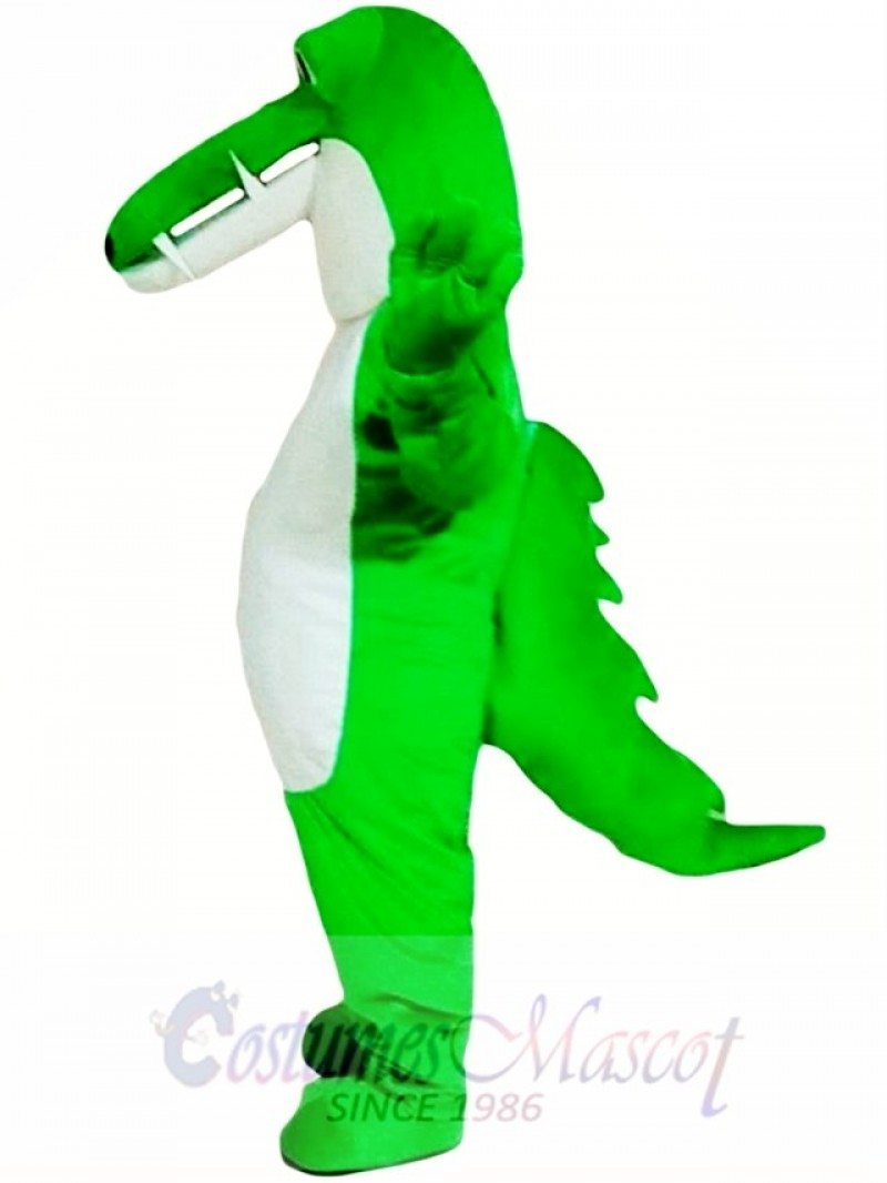 Green Crocodile Mascot Costume