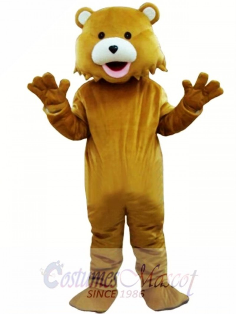 Brown Bear Adult Mascots Costume