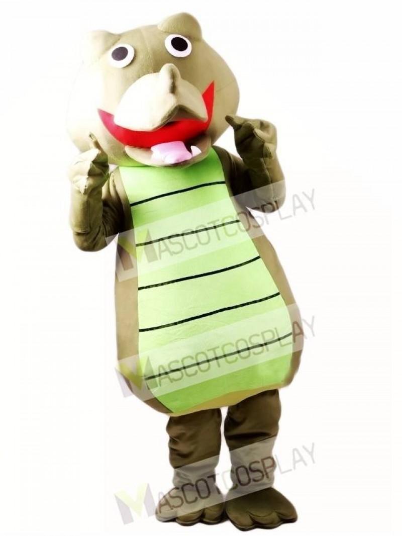 Crocodile Adult Mascot Costume
