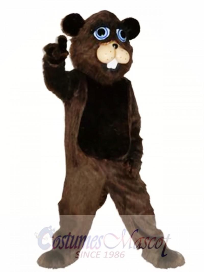 Handmade Beaver Mascot Costume