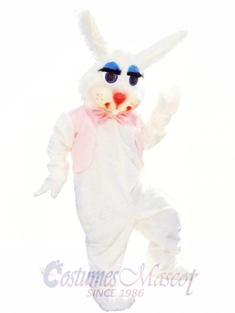 White Rabbit Easter Bunny Mascot Costume