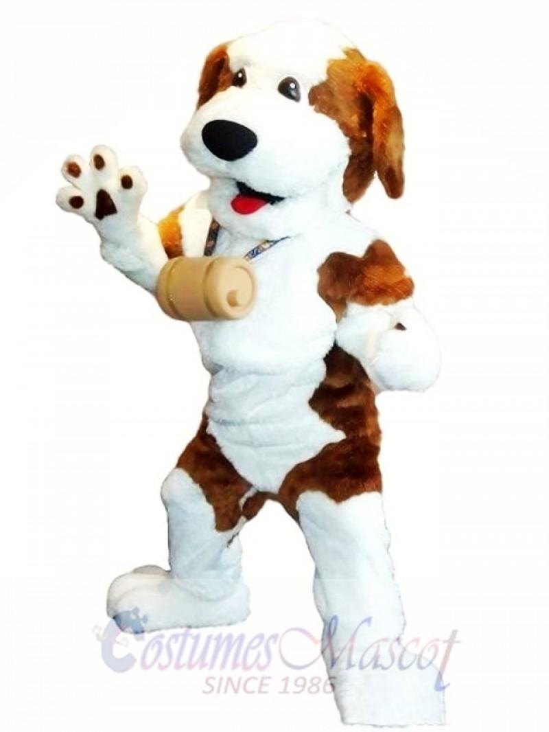 Cute Wizard Dog Mascot Costume