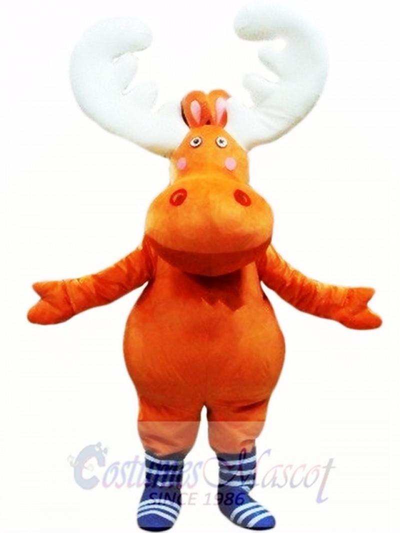 New Big Moose Deer Mascot Costume Animal