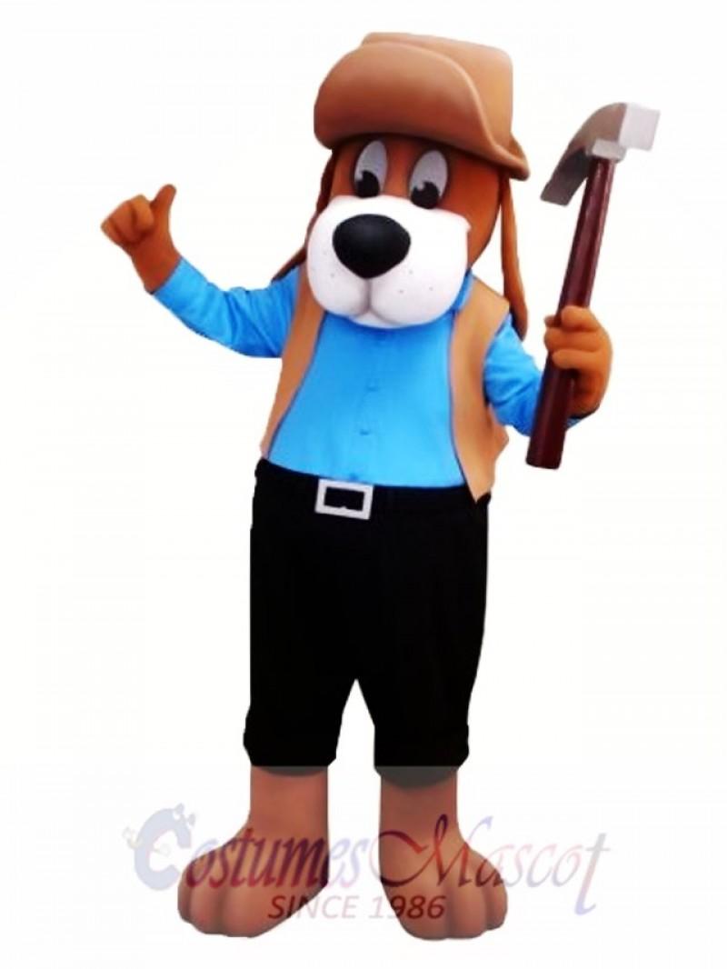 Worker Dog Mascot Costume