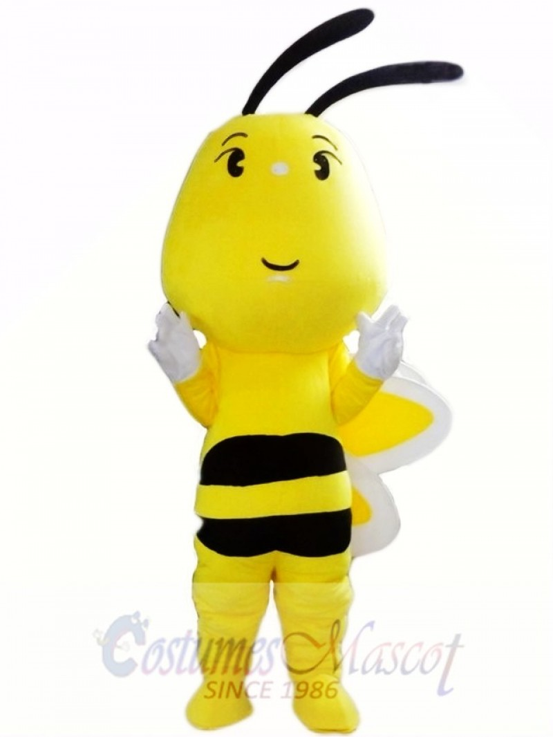Big Head Bee Mascot Costume