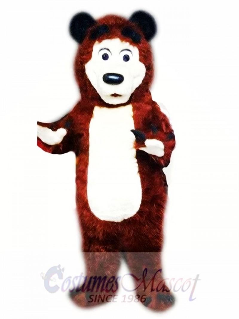 Bear Mascot Costume Adult Character Costume