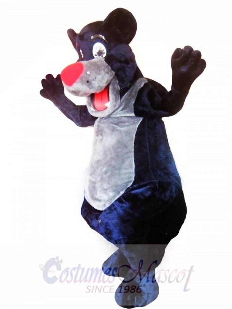 Black Bear Mascot Costume Adult Costume