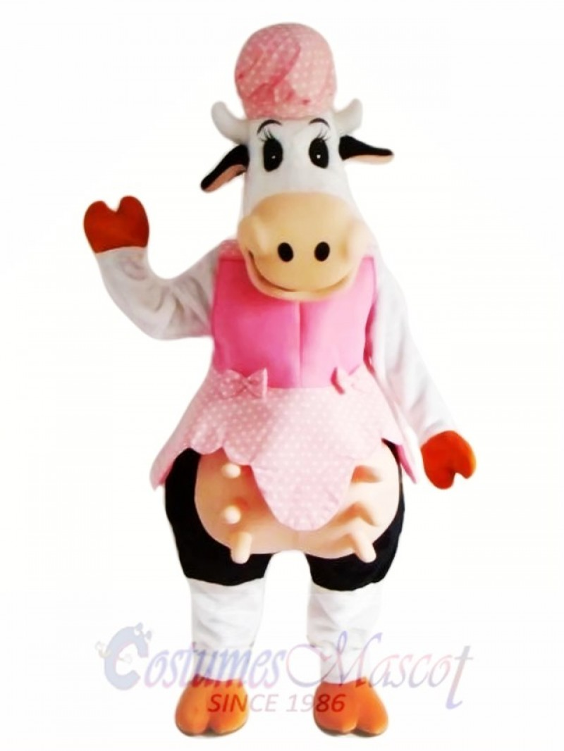 Cow Mascot Costume Adult Costume