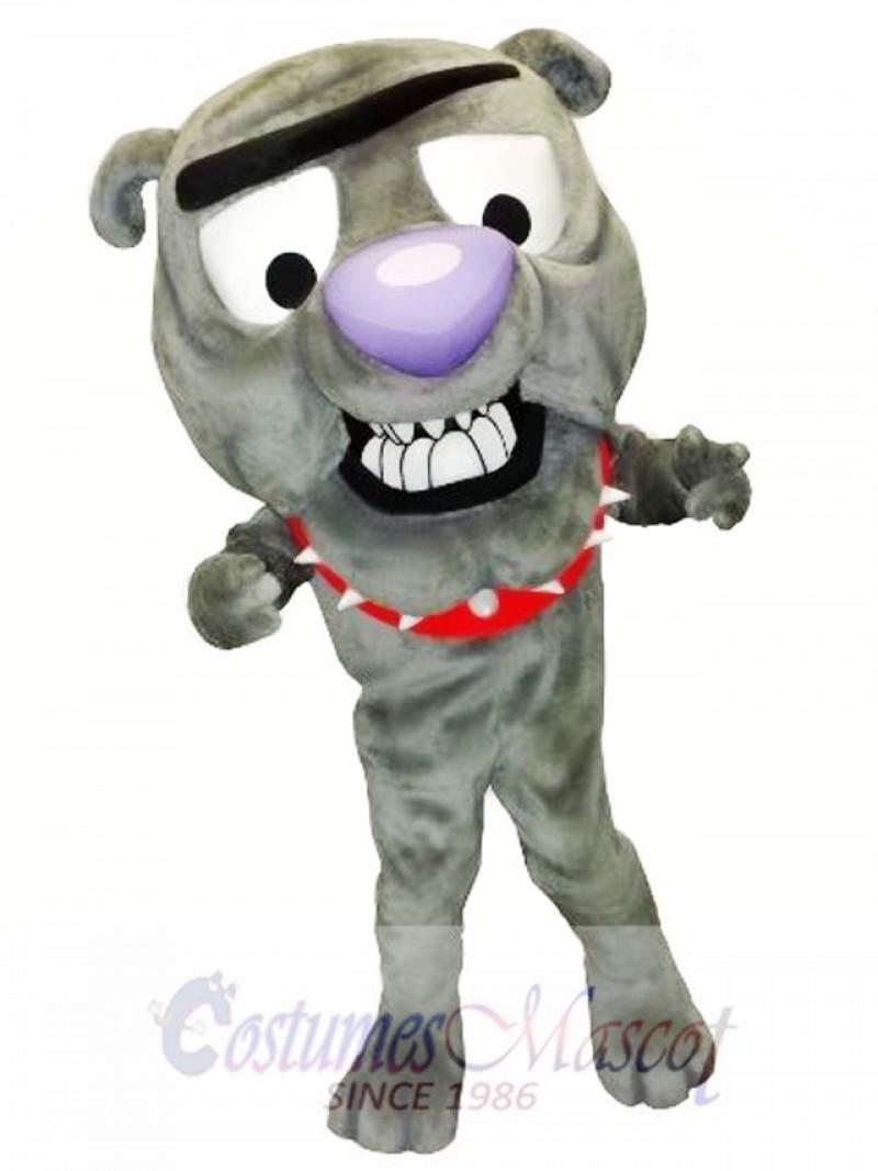 Cute Bulldog Mascot Costume