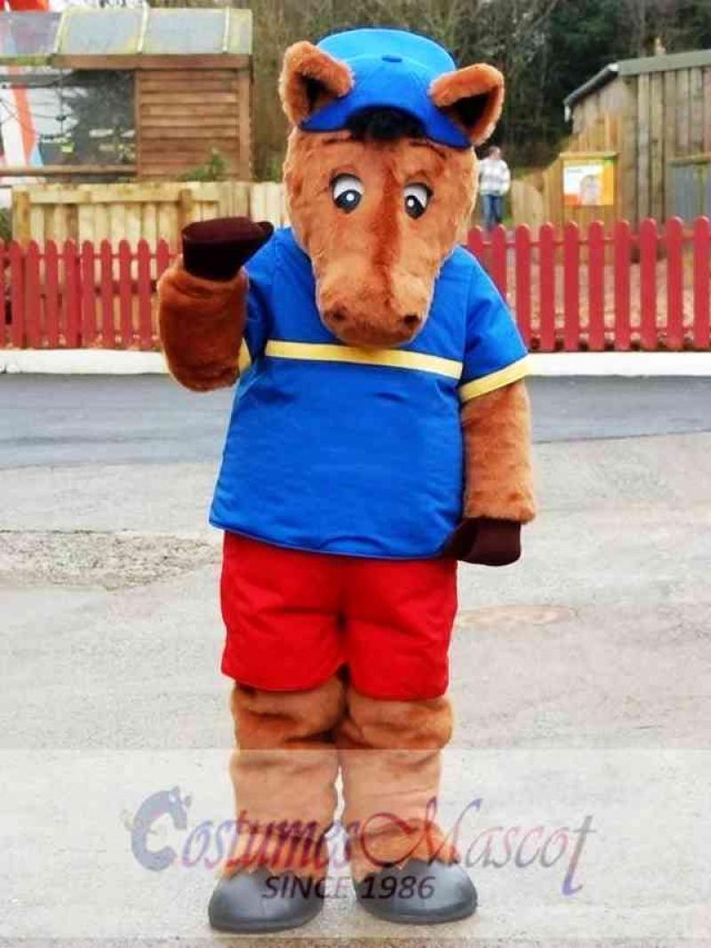 Cute Animal Lion Mascot Costume