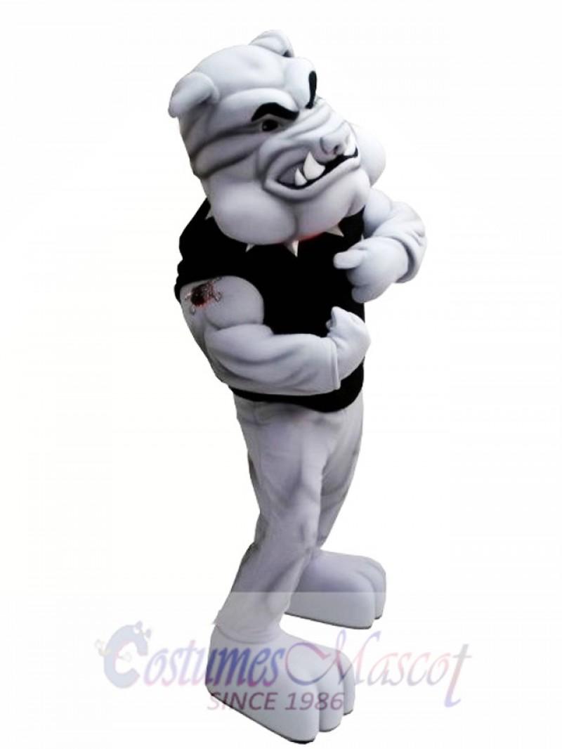 Power Bulldog Mascot Costume
