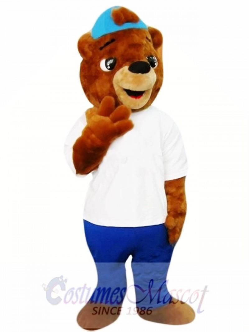 Super Cute Bear Mascot Costume