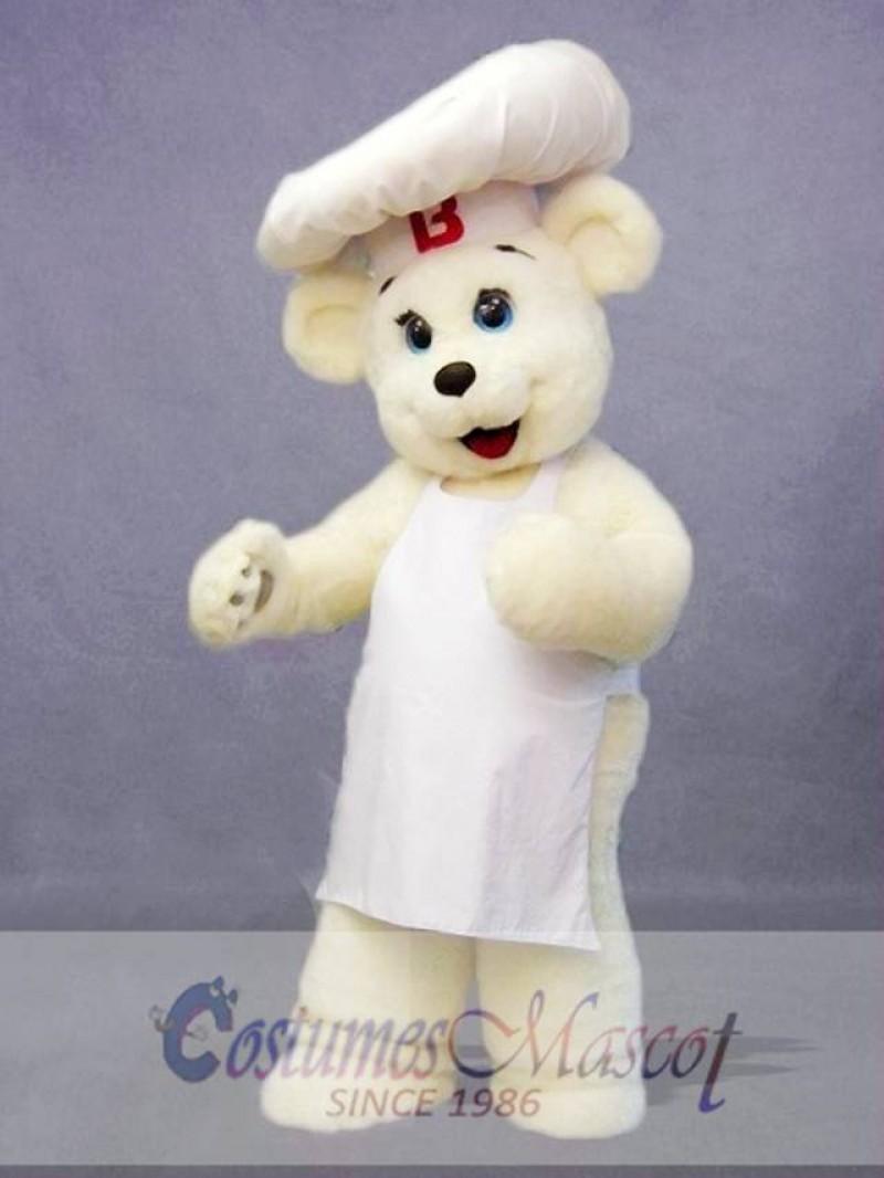 Chef Bear Mascot Costume