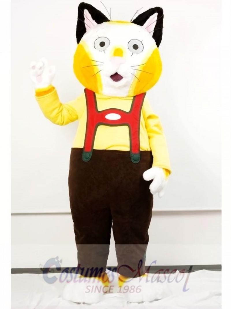 Huckle Cat Mascot Costume