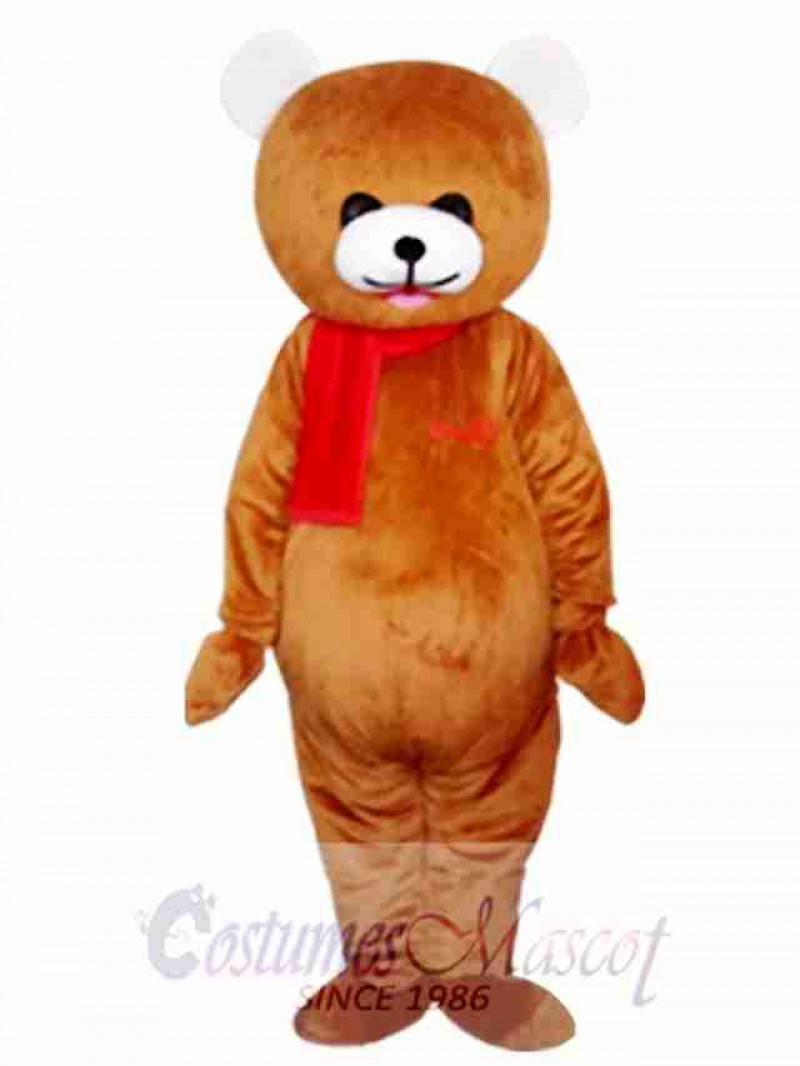 Curious Bear Mascot Costume
