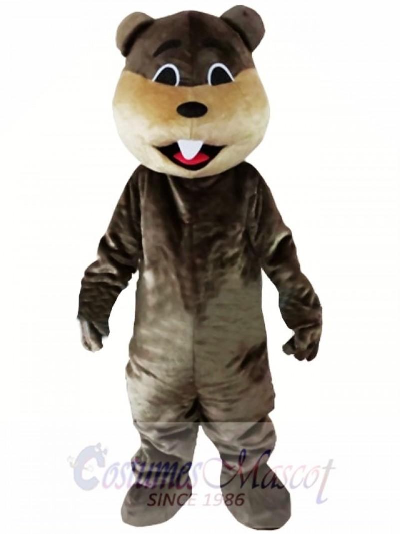 Beaver Mascot Costume Jungle River Animal Mascot Costume