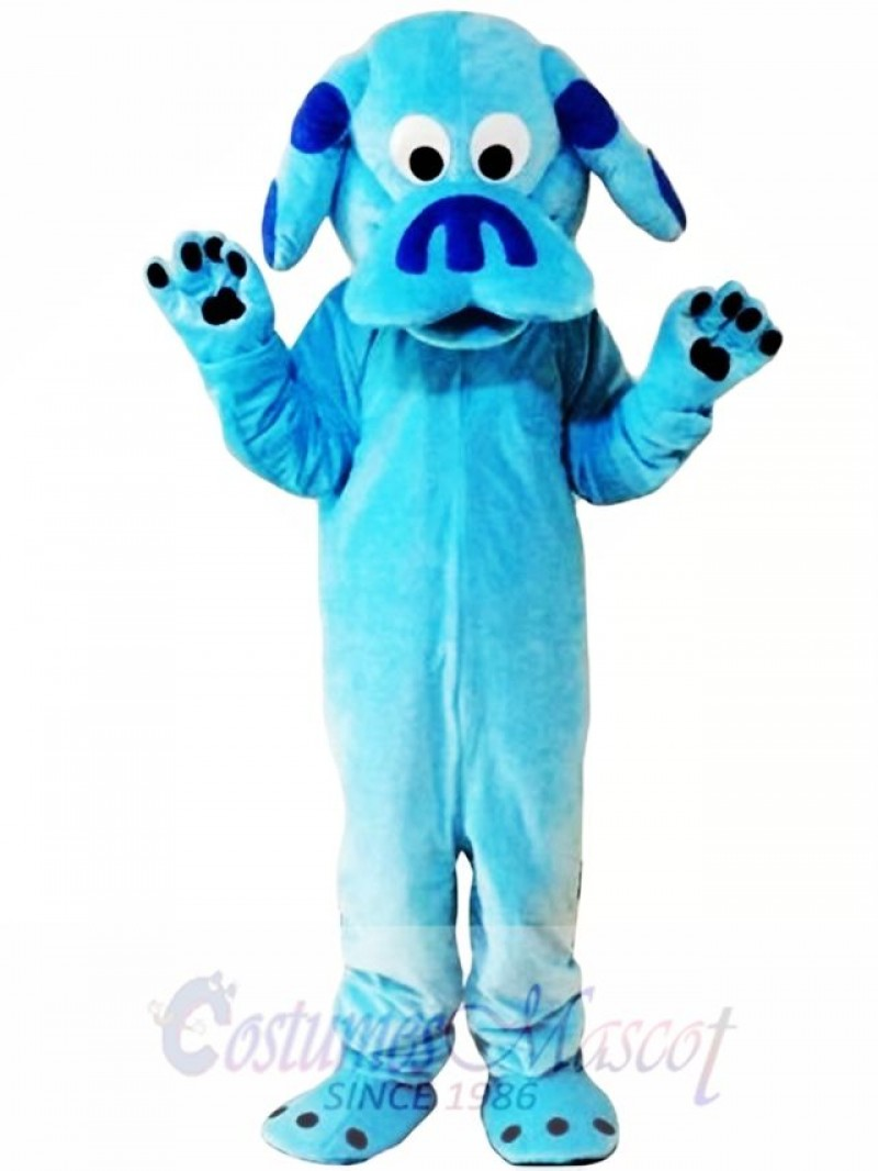 Sky Blue Dog Blues Clues Mascot Costume