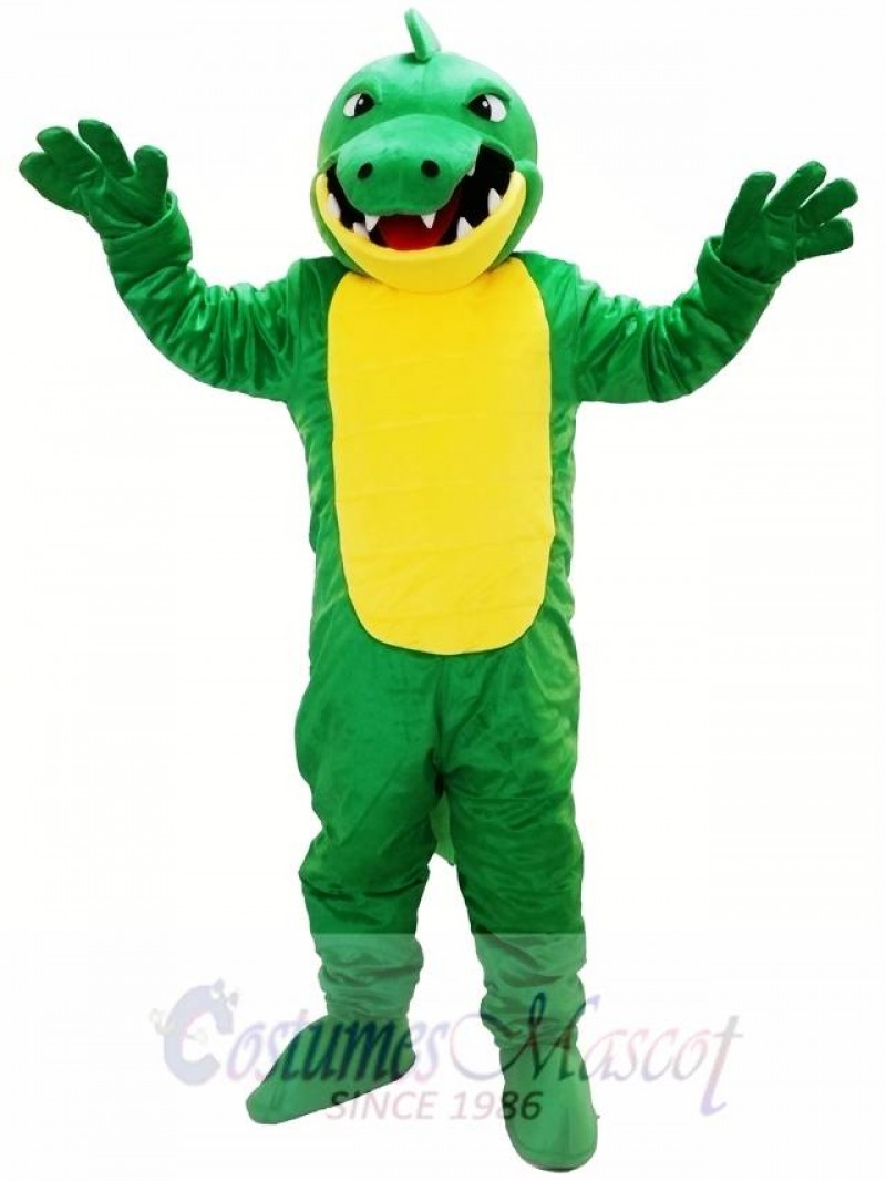 Big Mouth Crocodile Mascot Costume