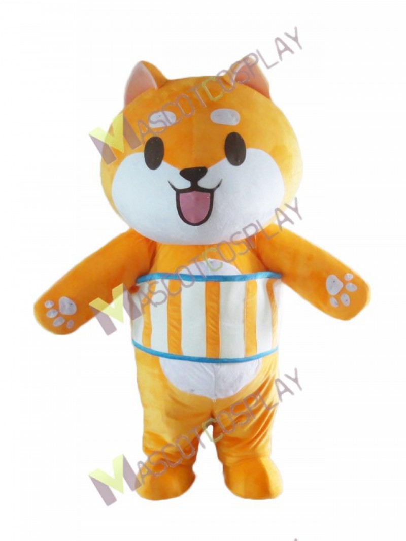 High Quality Adult Yellow Baby Bear Mascot Costume
