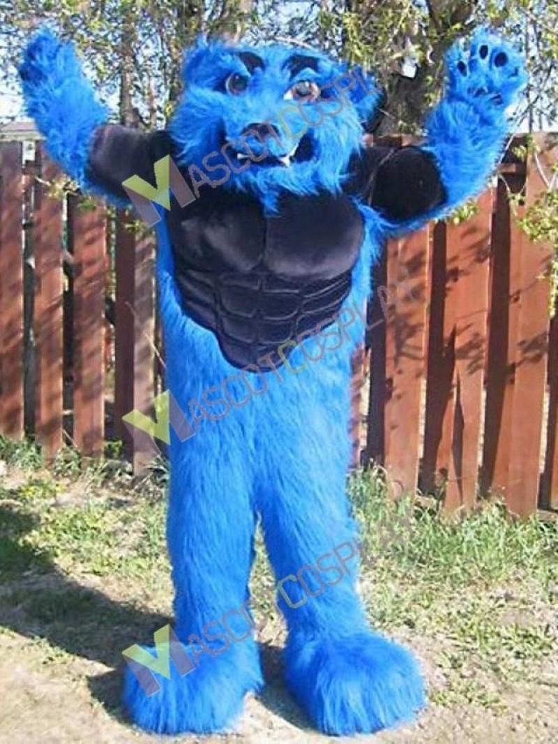 High Quality Adult Sport Team Blizzard Mascot Costume