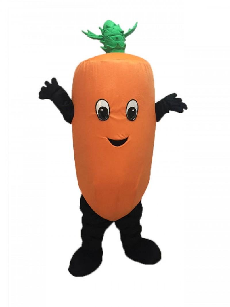 Fresh Carrot Mascot Costume