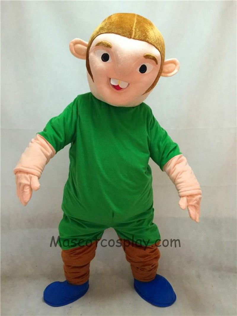 High Quality Adult Notre Dame de Paris Quasimodo Strange Man In Green Clothes Mascot Costume