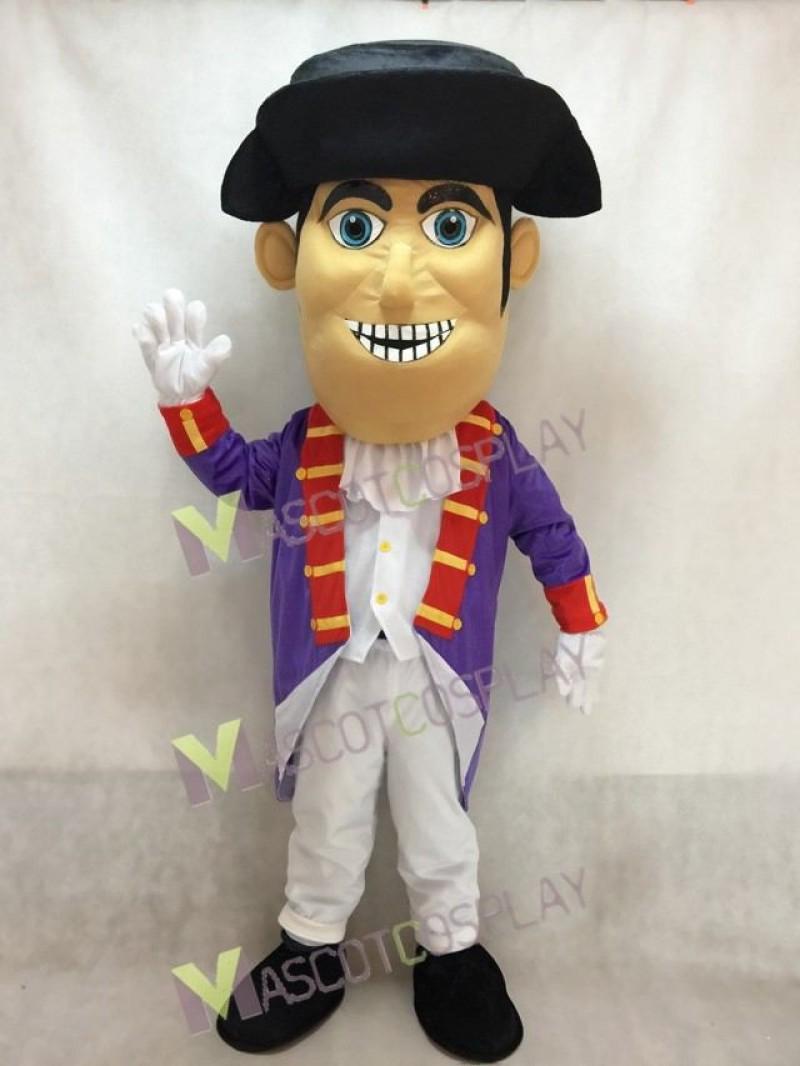 Fierce New Patriot Mascot Costume