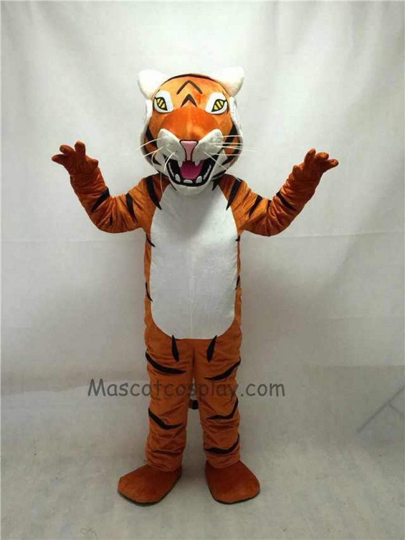 1d7eb19be Fierce New Bengal Tiger Mascot Costume