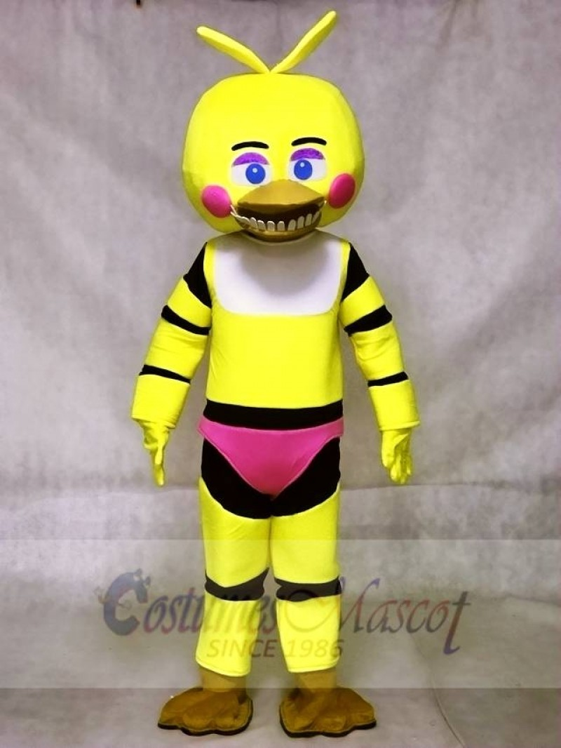 FNAF Five Nights At Freddy's Toy Chica Mascot Costumes Animal