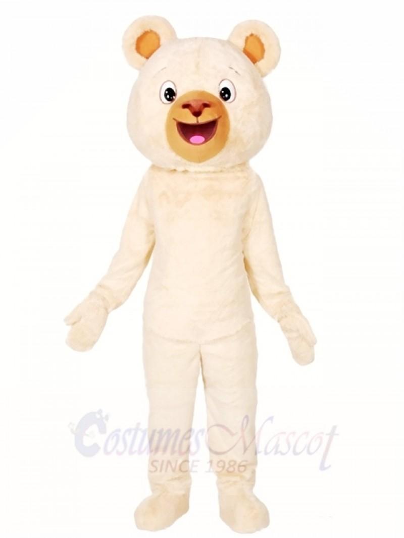 White Bear Mascot Costumes Animal