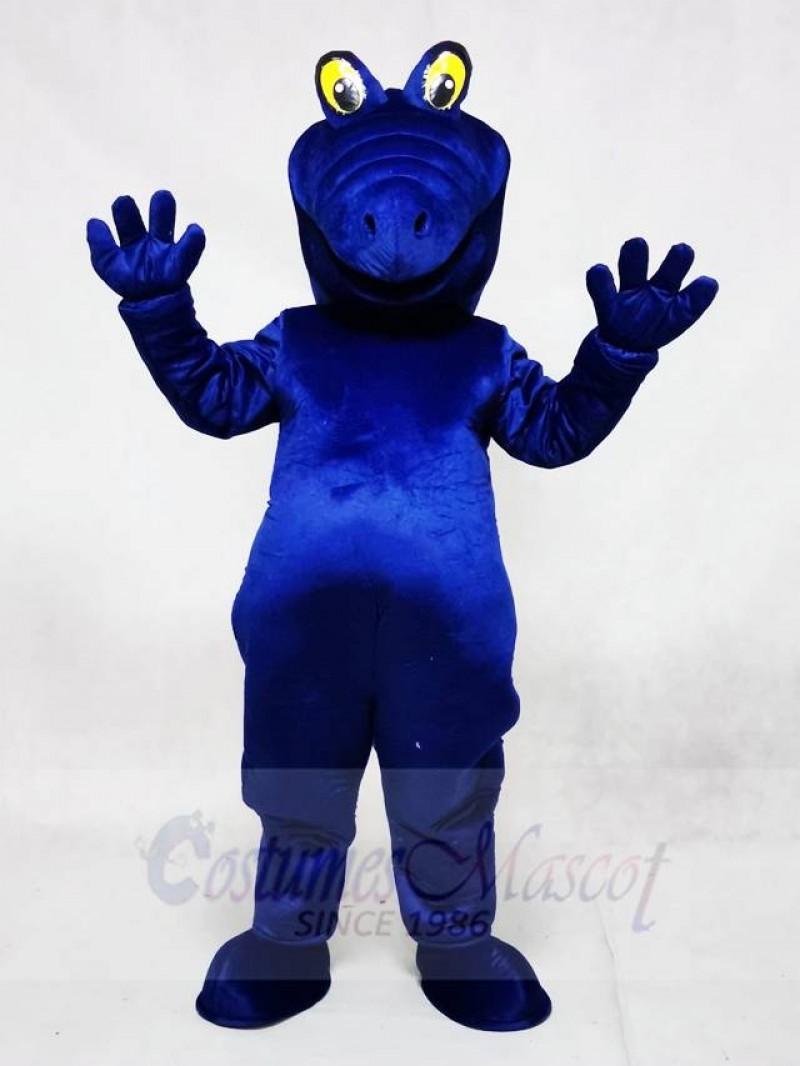 Royal Blue Albert Alligator Mascot Costumes Animal