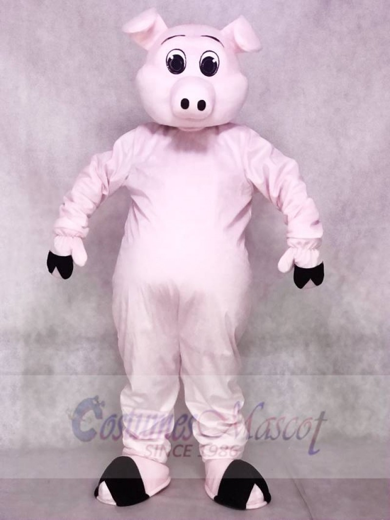 Cute Porker Pig Piglet Hog Mascot Costumes Animal