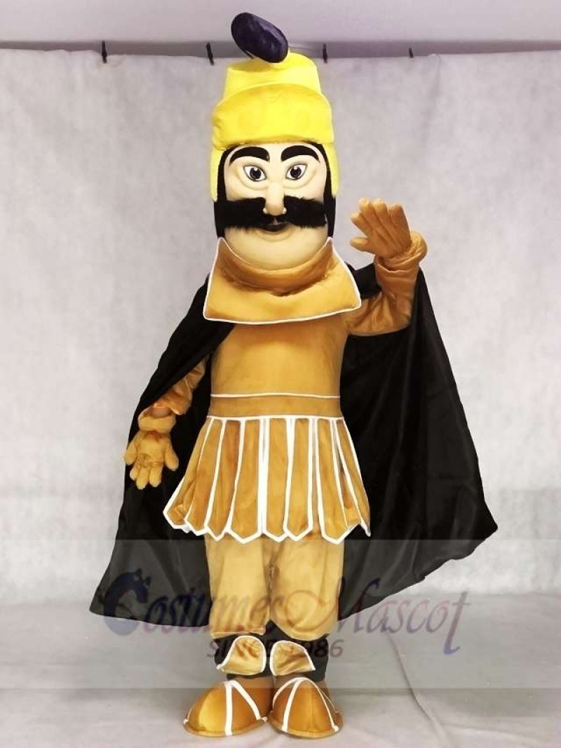 Fierce Trojan Warrior Mascot Costume