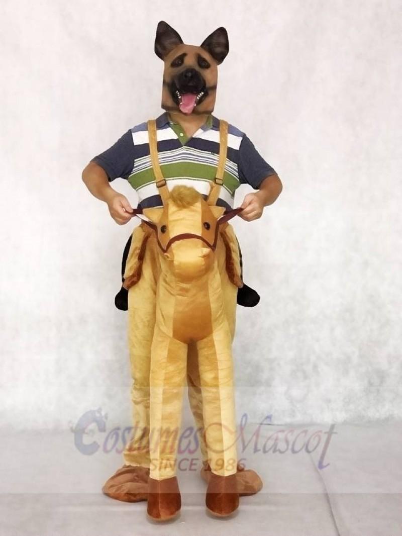 Piggyback Pony Carry Me Ride on Horse Mascot Costumes Animal