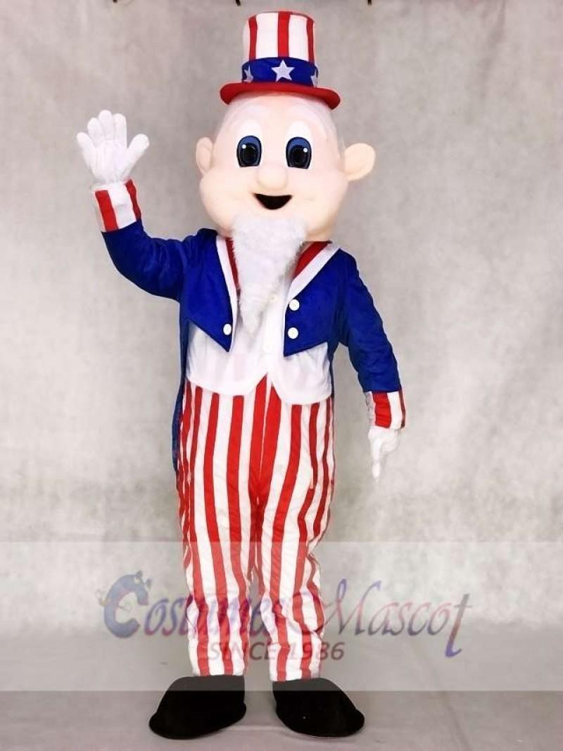 Uncle Sam Mascot Adult Costumes