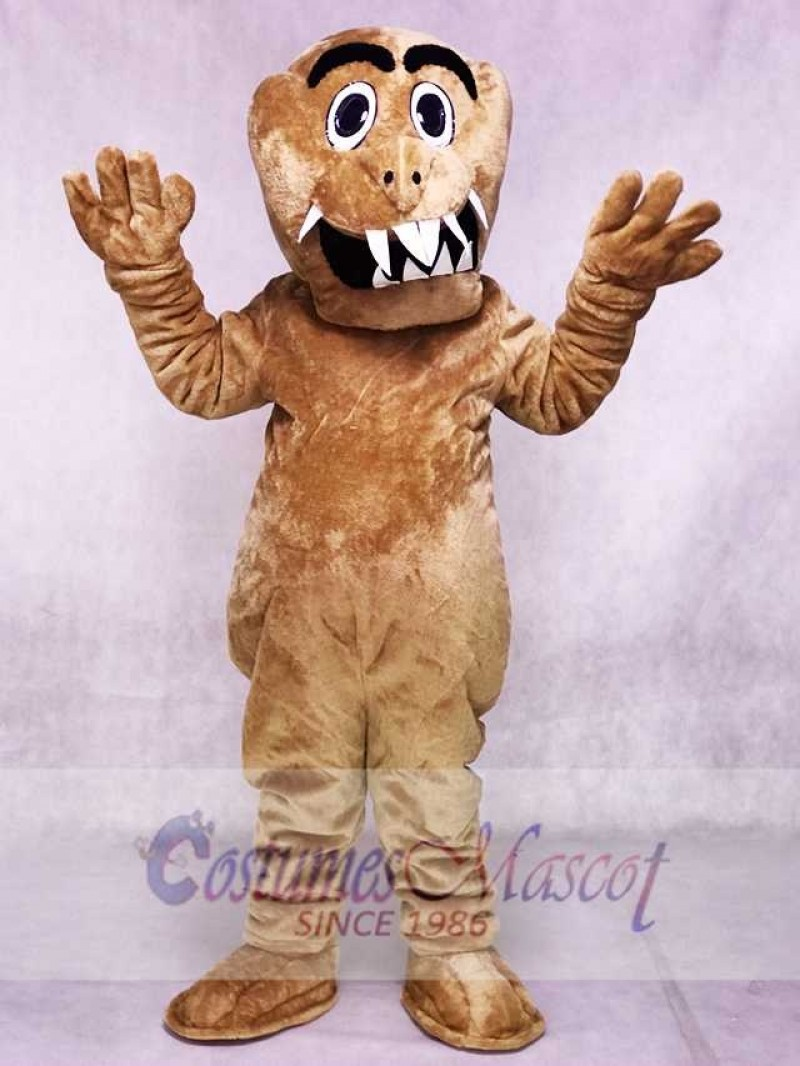 Brown Monster Mascot Costumes