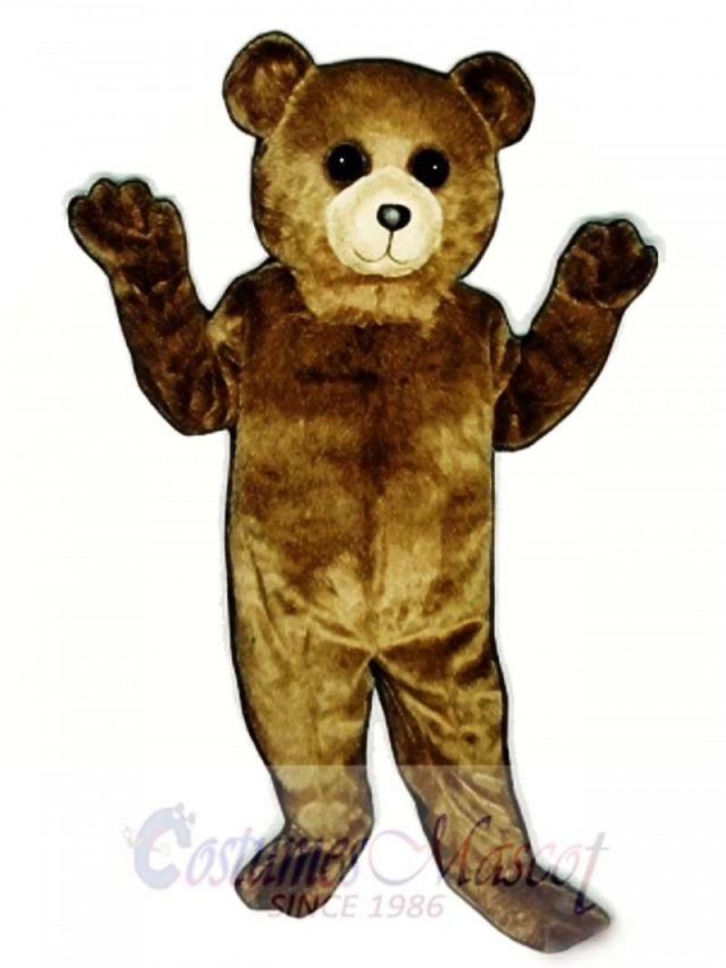New Toy Teddy Bear Mascot Costume